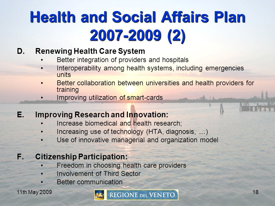 Health and Social Affairs Plan 2007-2009 (2)
