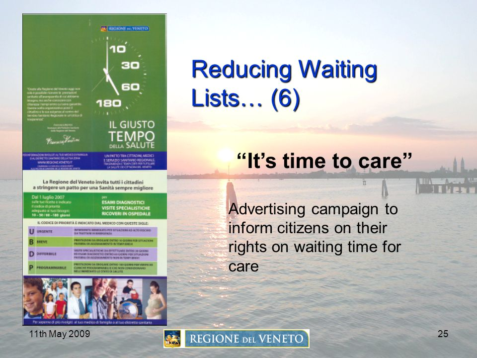 Reducing Waiting Lists… (6)