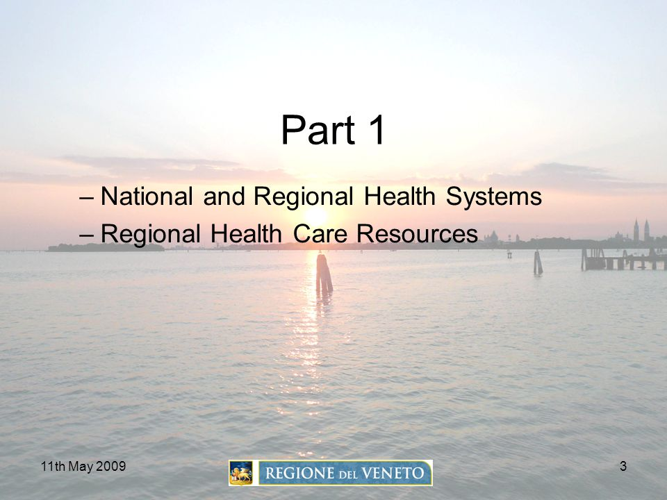 Part 1 National and Regional Health Systems