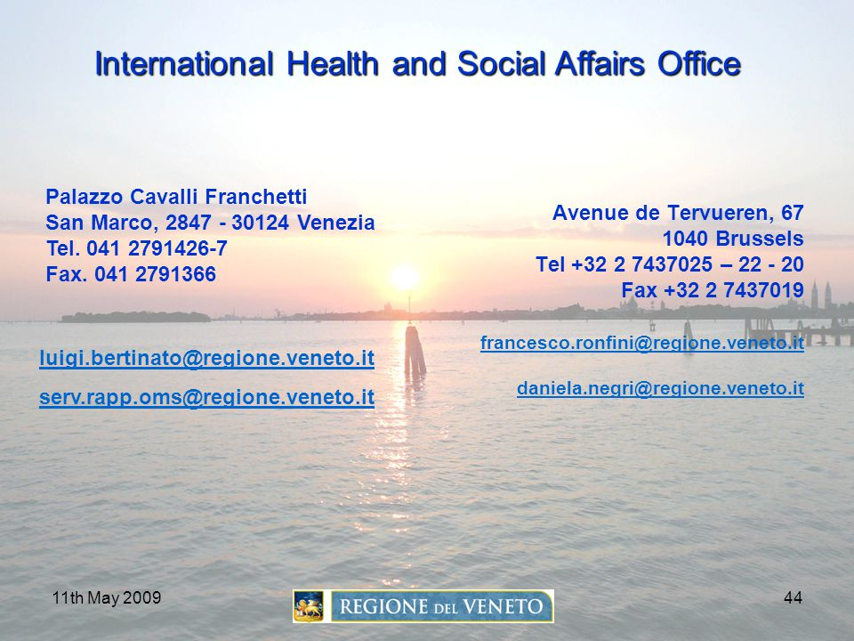 International Health and Social Affairs Office