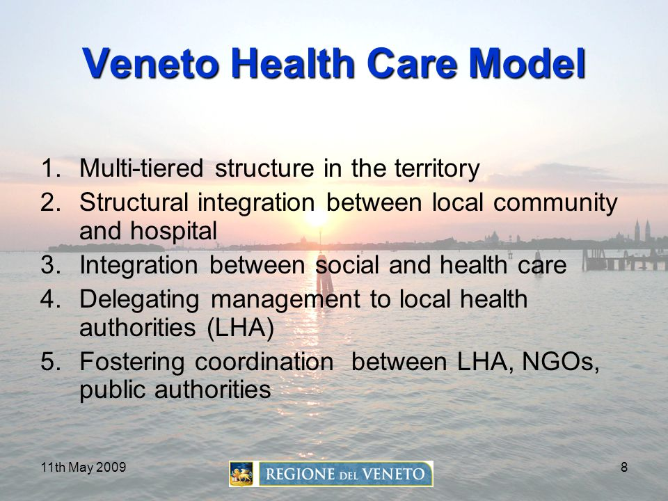 Veneto Health Care Model