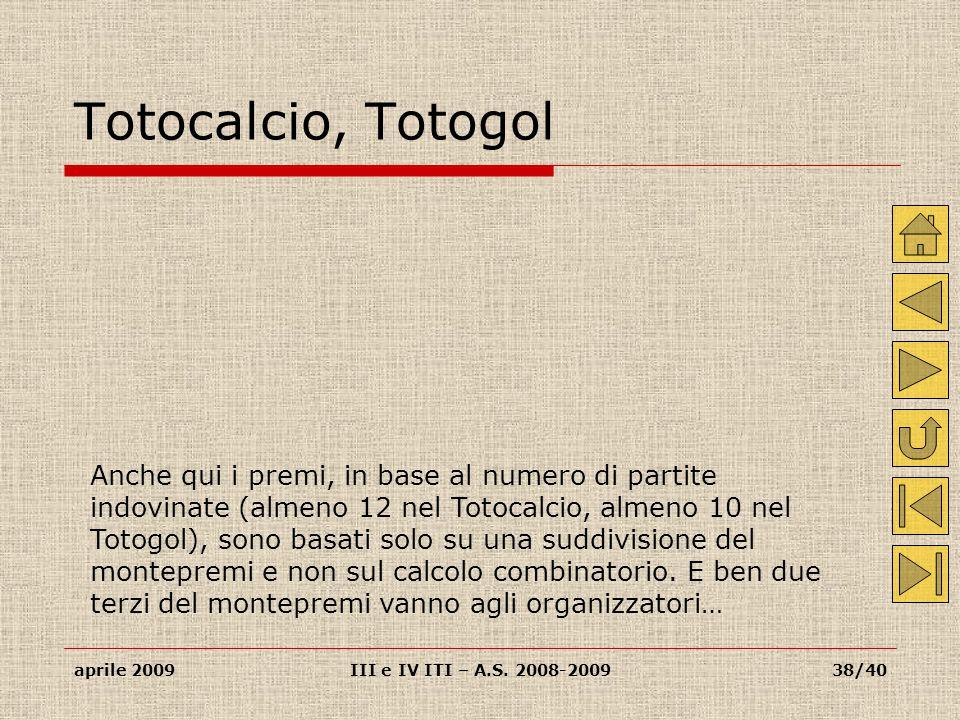 Totocalcio, Totogol
