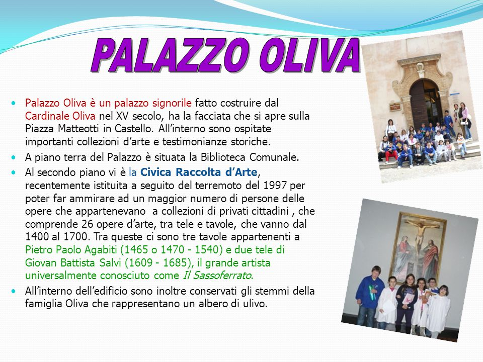 PALAZZO OLIVA