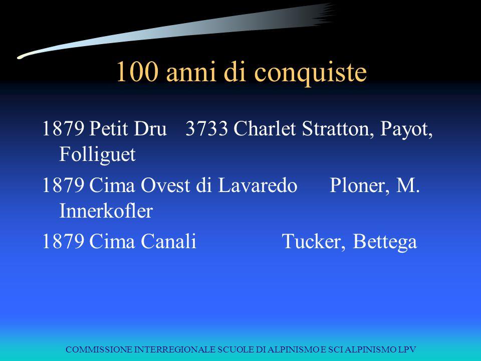 COMMISSIONE INTERREGIONALE SCUOLE DI ALPINISMO E SCI ALPINISMO LPV