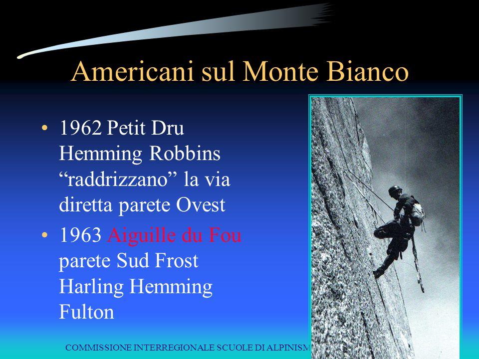 Americani sul Monte Bianco