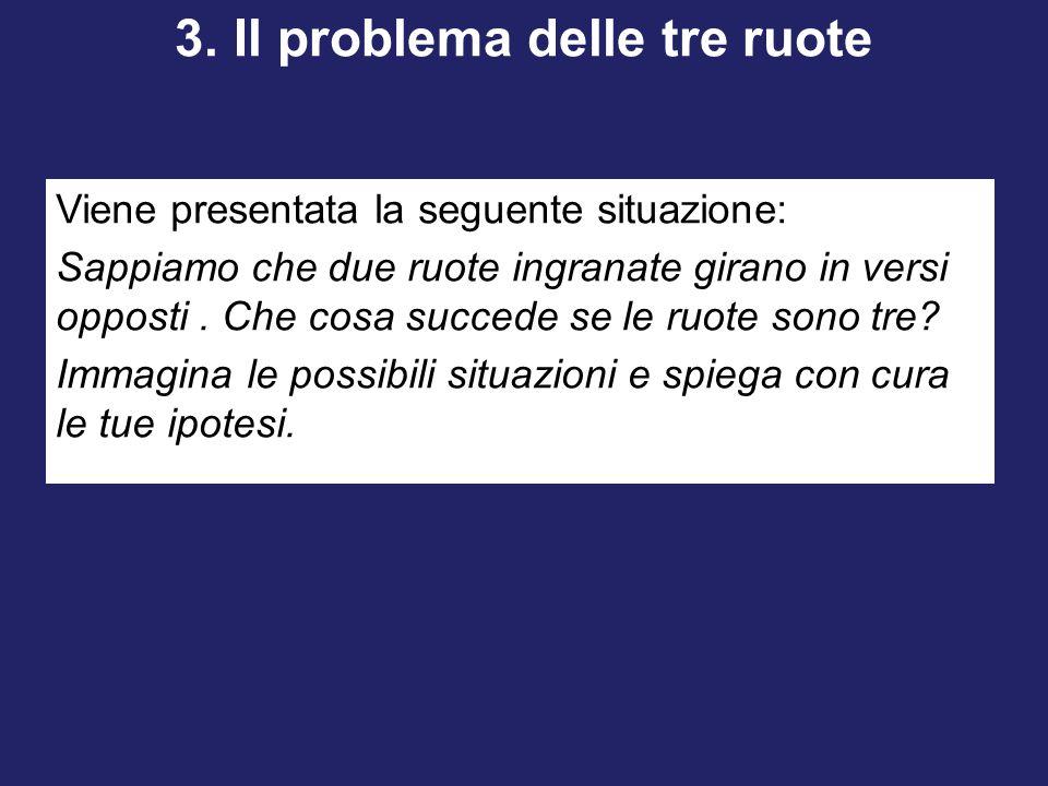 3. Il problema delle tre ruote