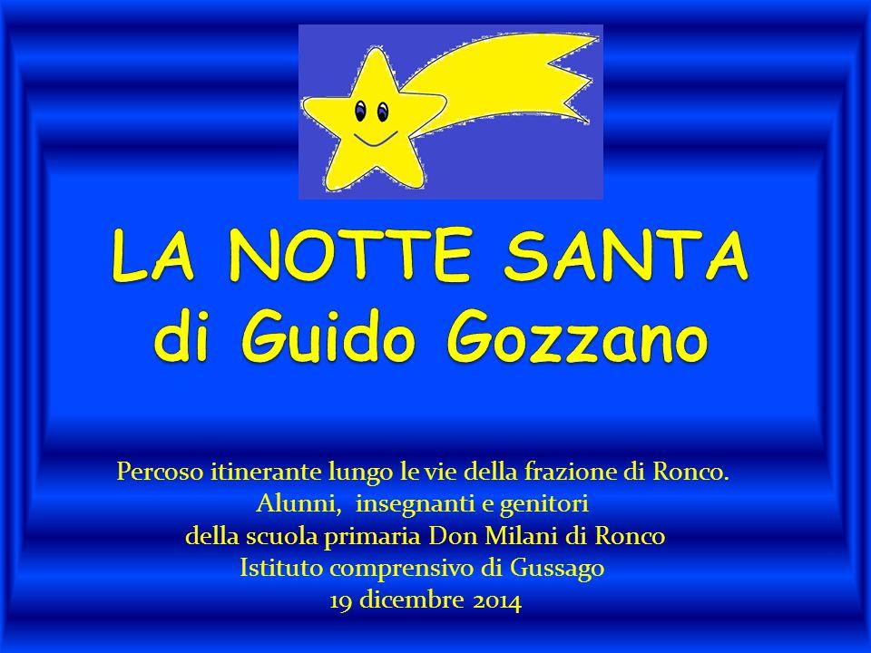 LA NOTTE SANTA di Guido Gozzano