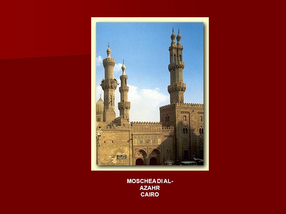 MOSCHEA DI AL-AZAHR CAIRO