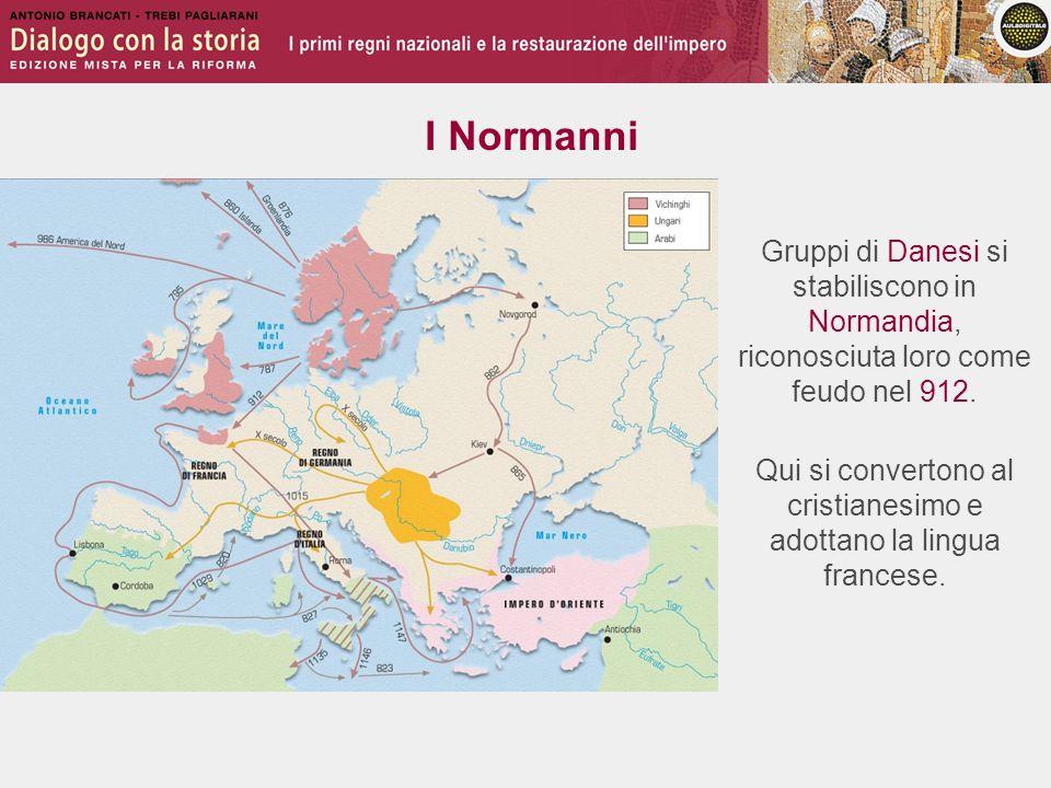 Qui si convertono al cristianesimo e adottano la lingua francese.