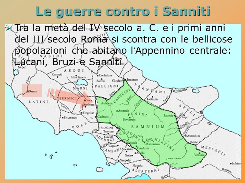 Le guerre contro i Sanniti