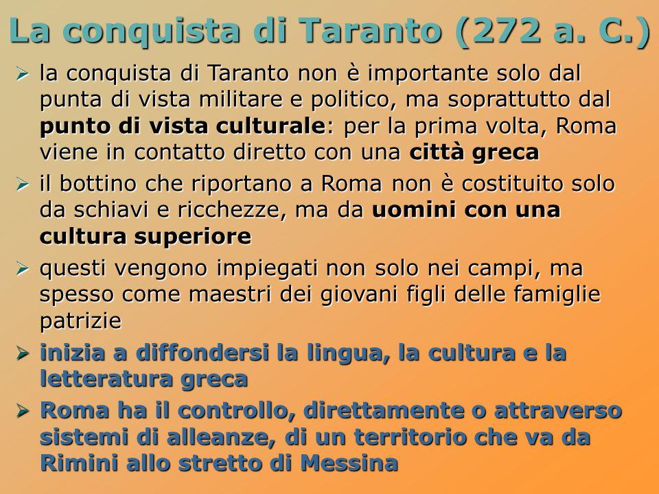 La conquista di Taranto (272 a. C.)