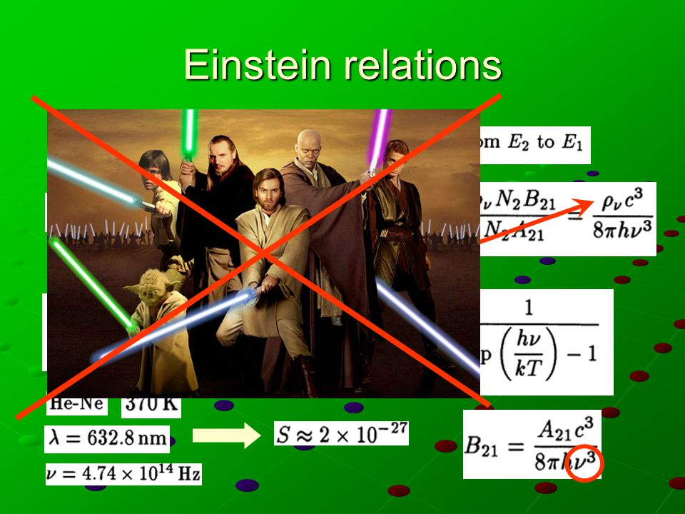 Einstein relations