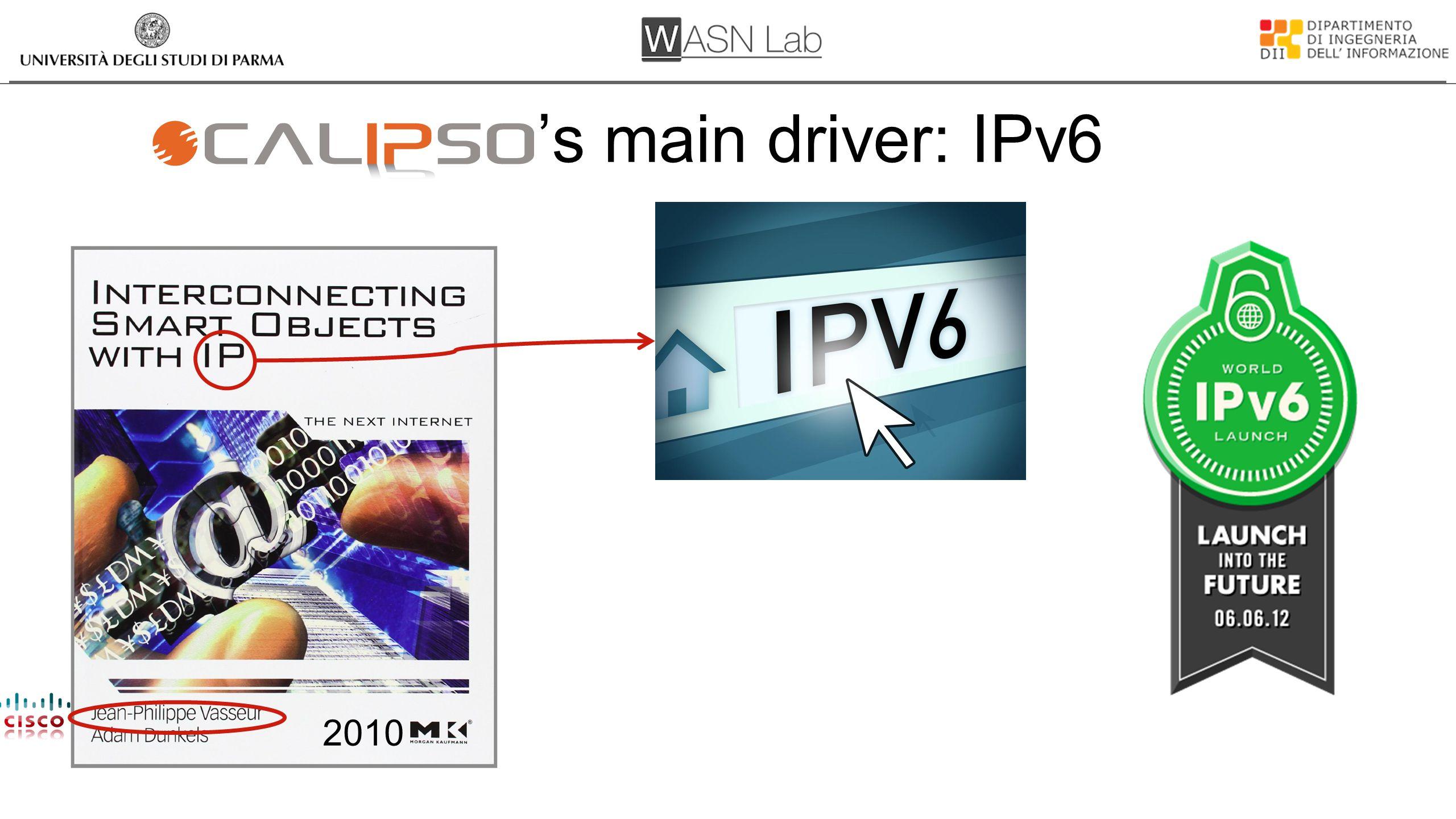 's main driver: IPv6 2010