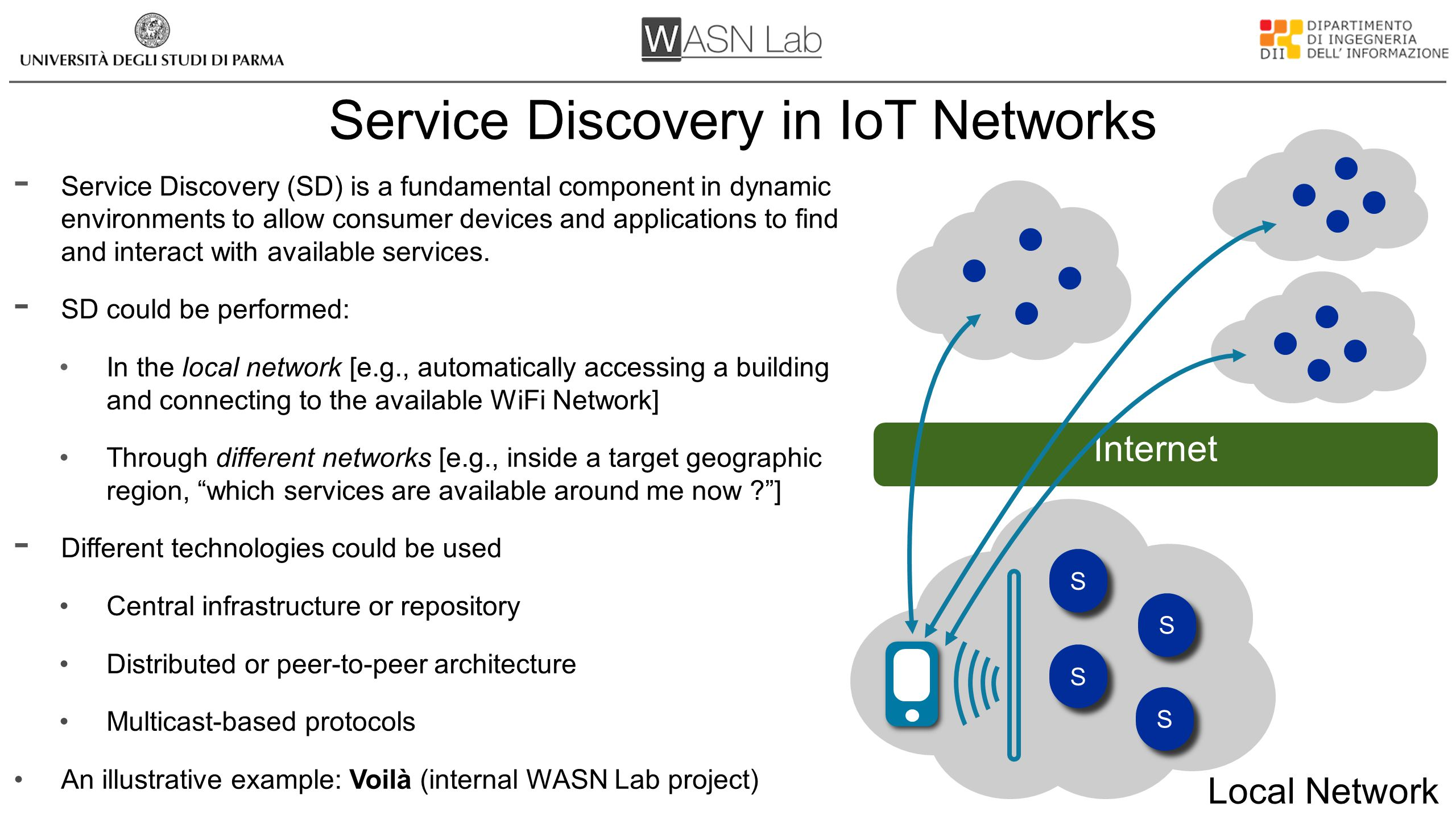 Service Discovery in IoT Networks