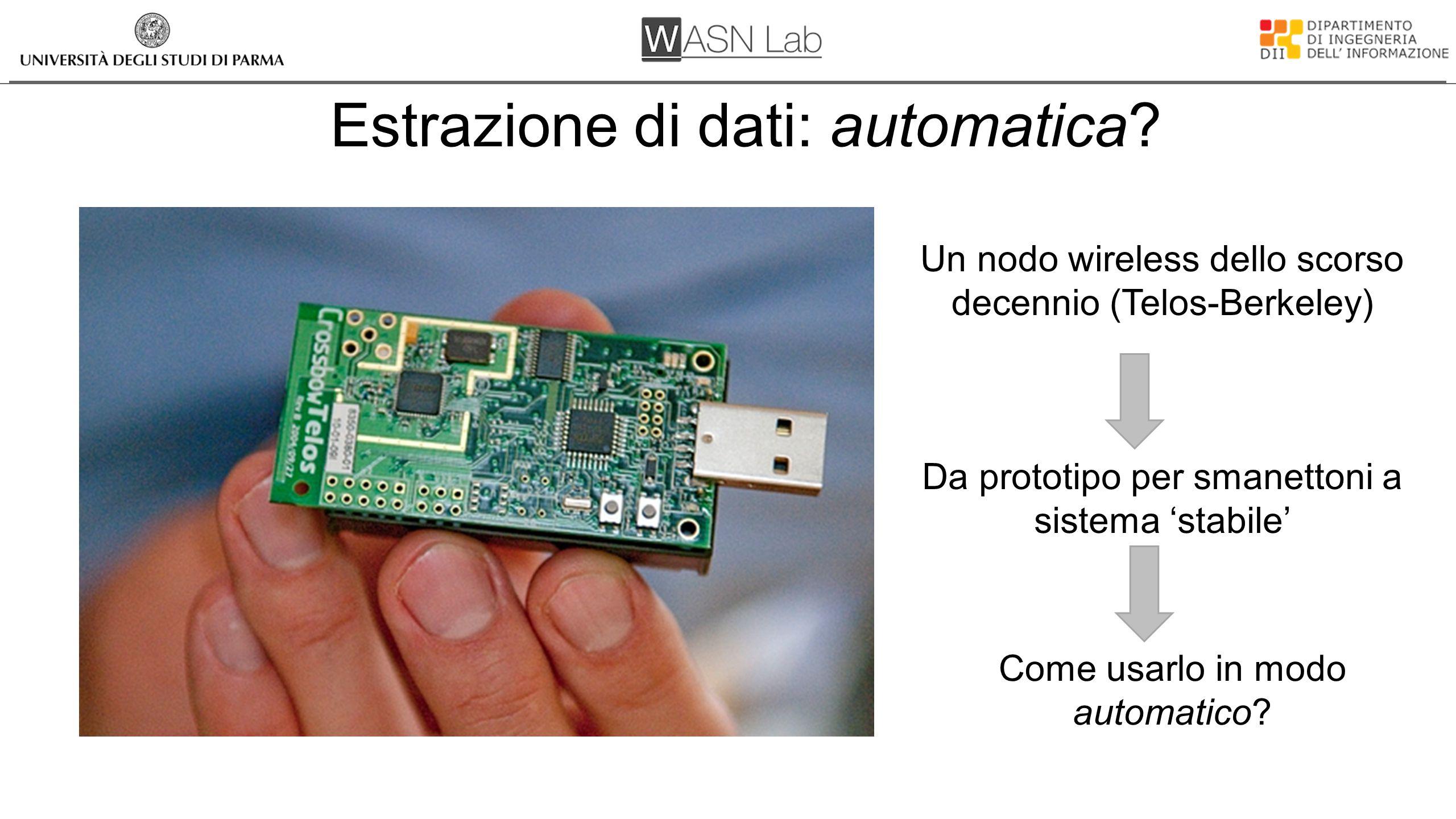Estrazione di dati: automatica