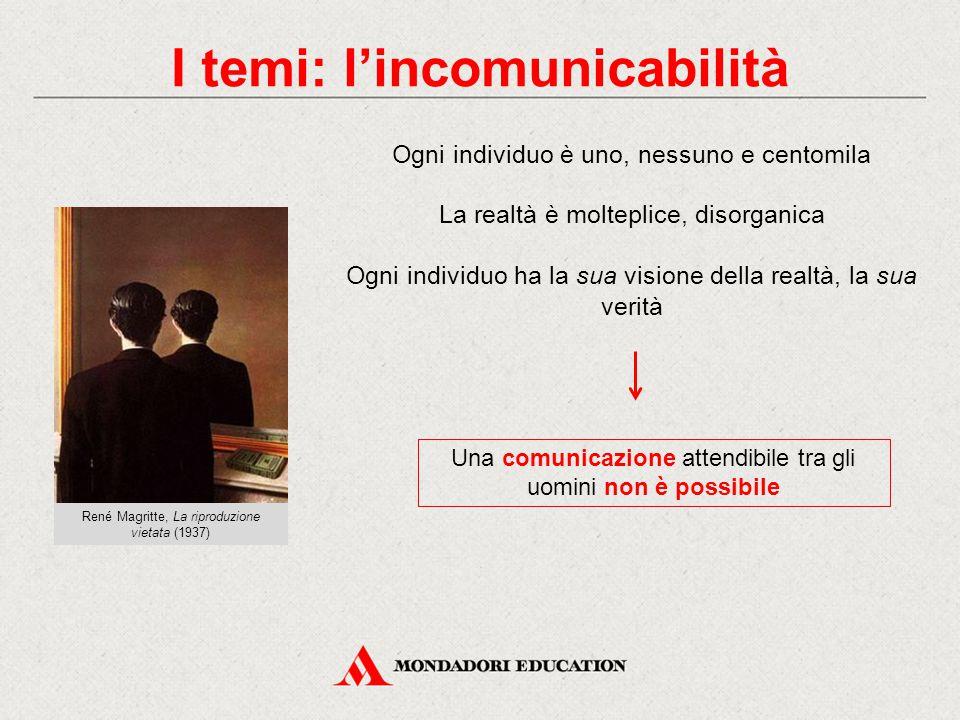 I temi: l'incomunicabilità