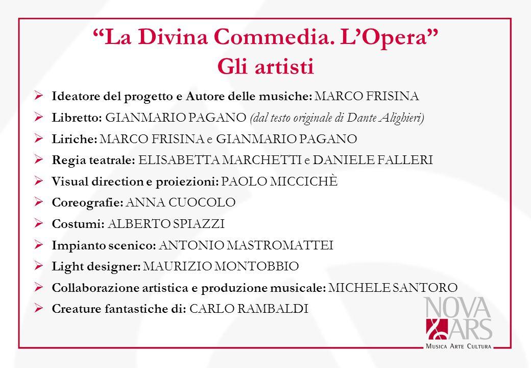 La Divina Commedia. L'Opera Gli artisti