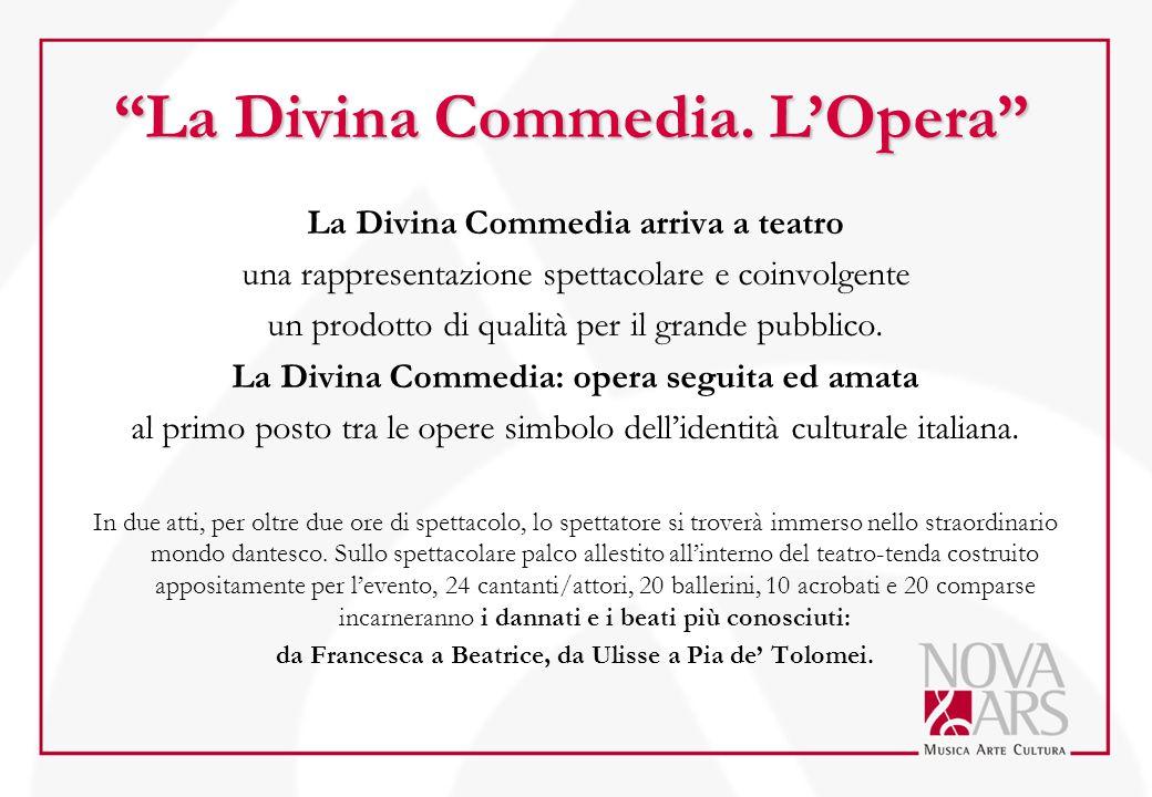 La Divina Commedia. L'Opera