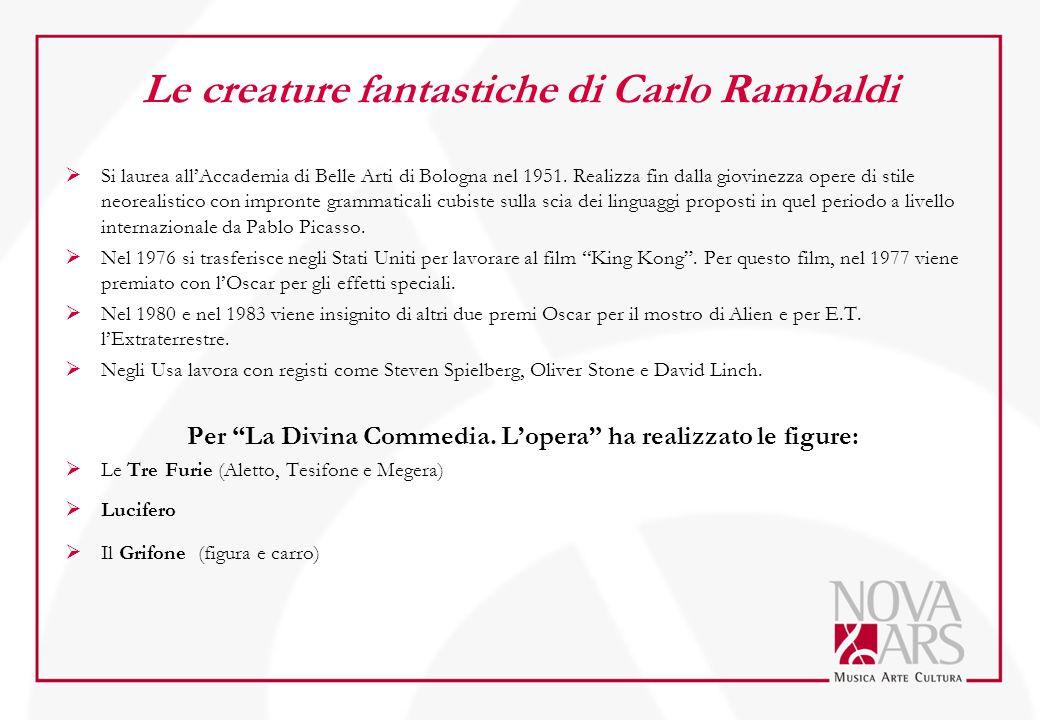 Le creature fantastiche di Carlo Rambaldi