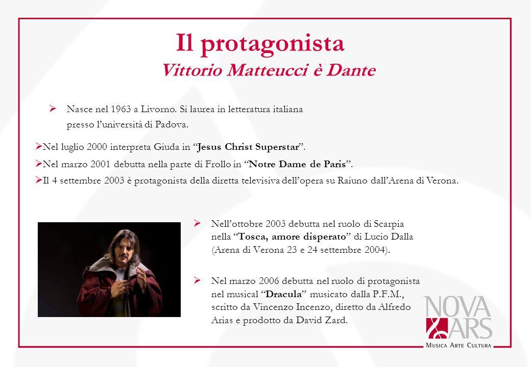 Il protagonista Vittorio Matteucci è Dante