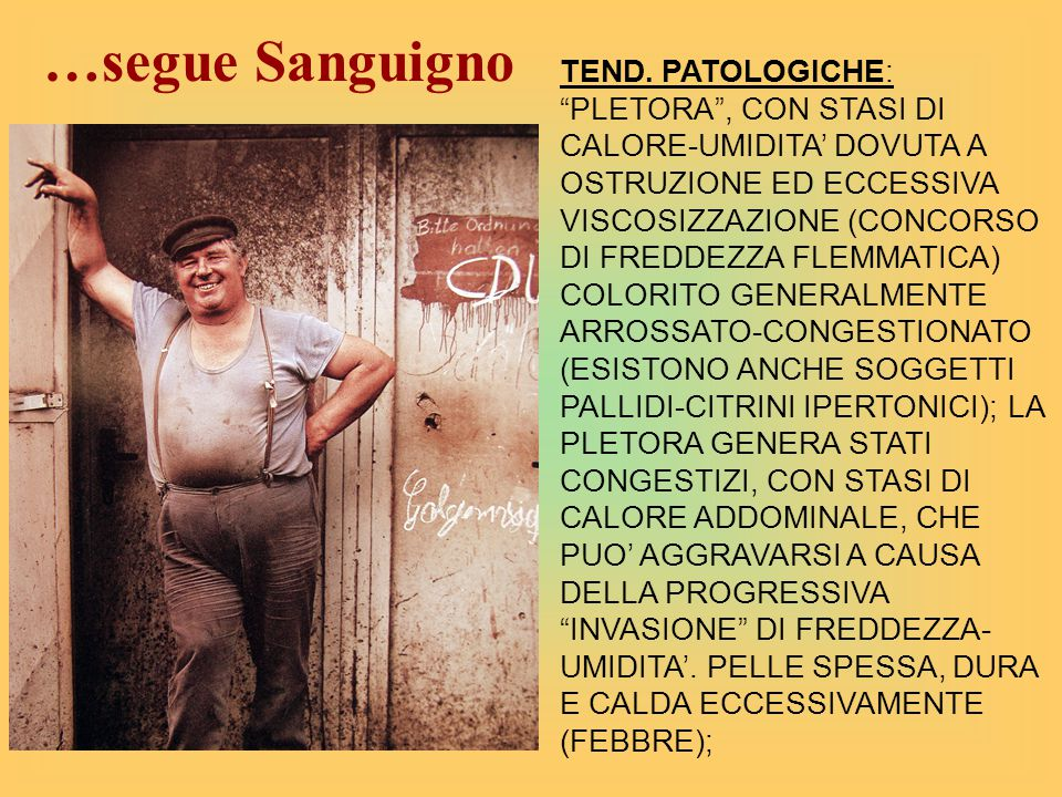 …segue Sanguigno