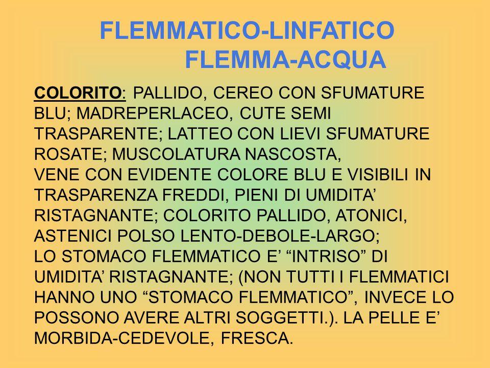 FLEMMATICO-LINFATICO