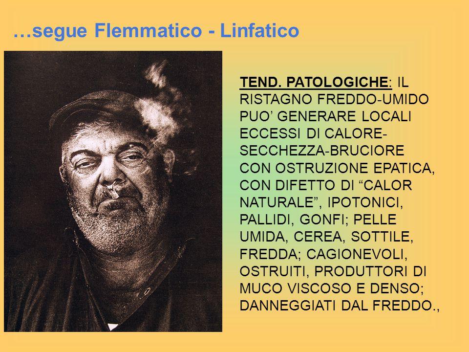 …segue Flemmatico - Linfatico