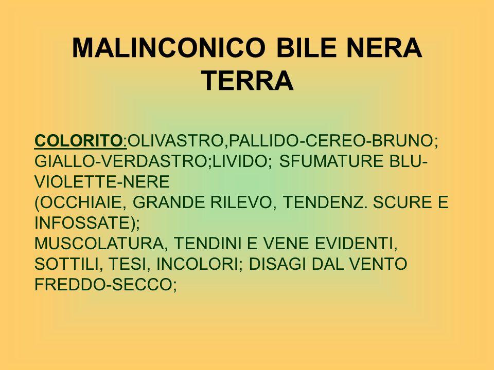 MALINCONICO BILE NERA TERRA