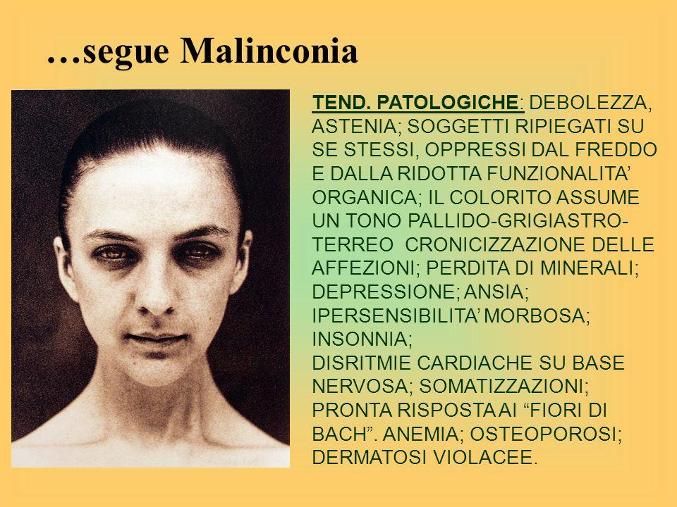 …segue Malinconia