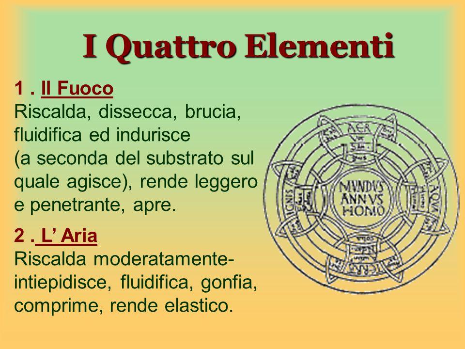 I Quattro Elementi 1 . Il Fuoco