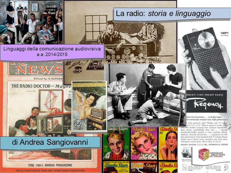 Linguaggi della comunicazione audiovisiva
