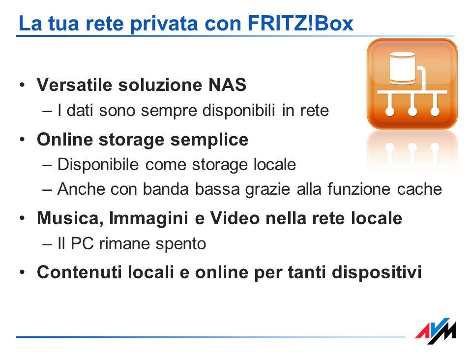 La tua rete privata con FRITZ!Box