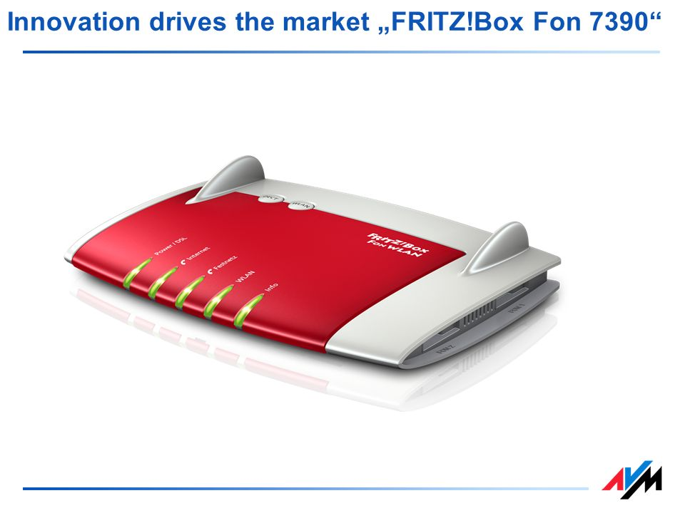 "Innovation drives the market ""FRITZ!Box Fon 7390"