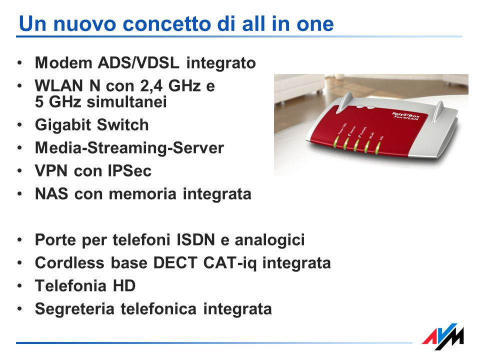 Un nuovo concetto di all in one
