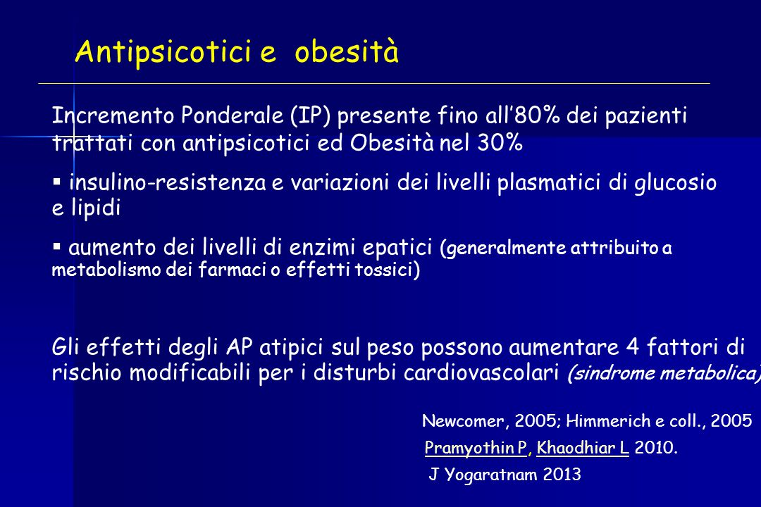 Antipsicotici e obesità