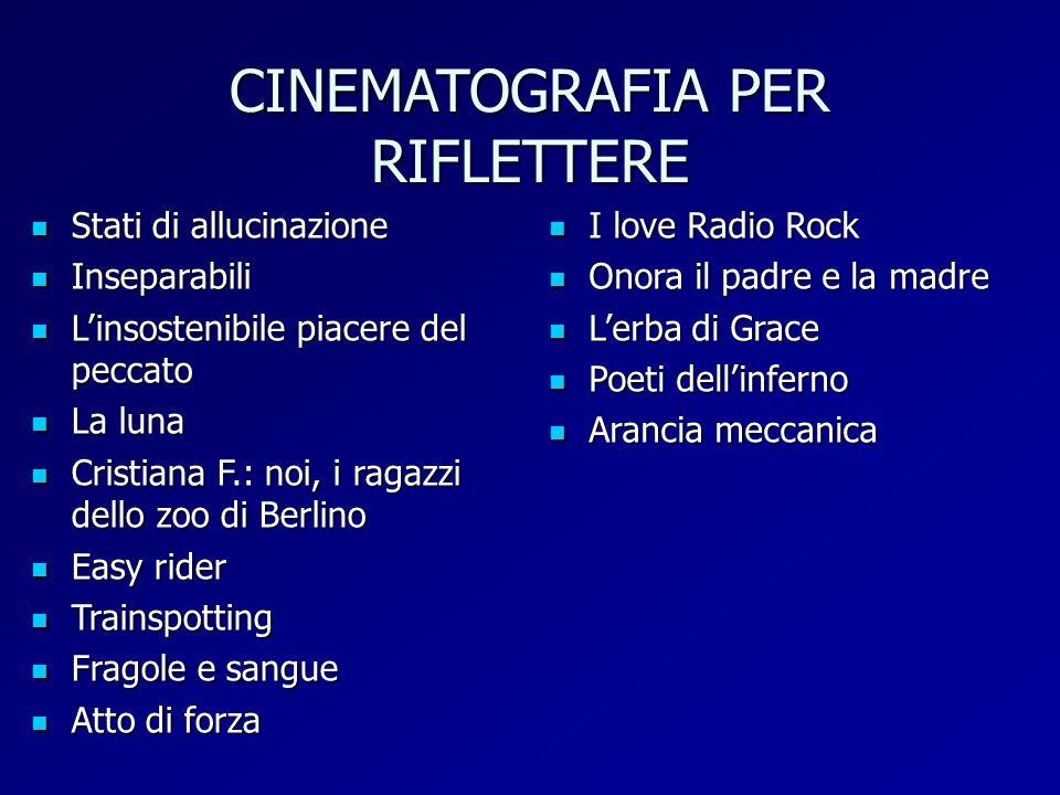 CINEMATOGRAFIA PER RIFLETTERE