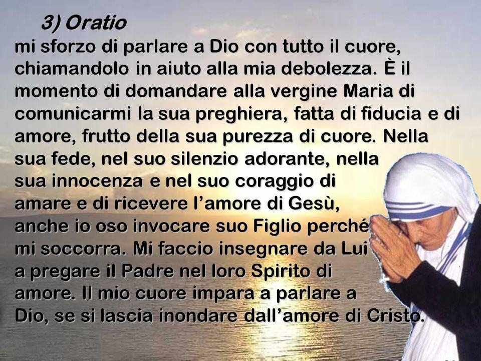 3) Oratio