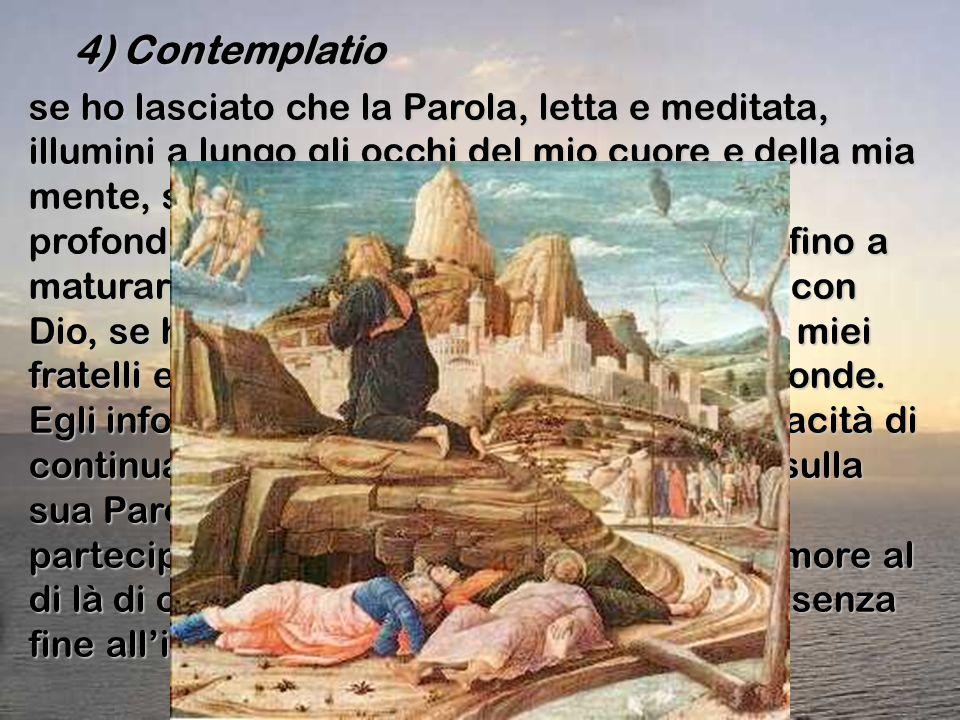 4) Contemplatio