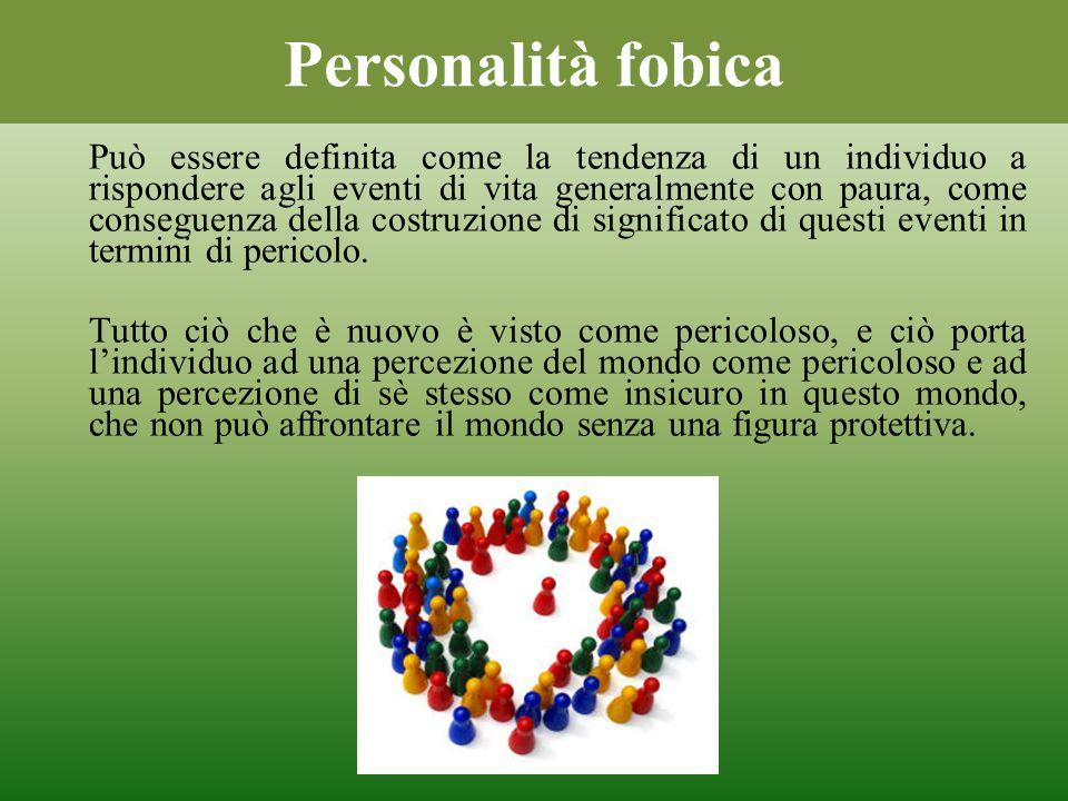 Personalità fobica