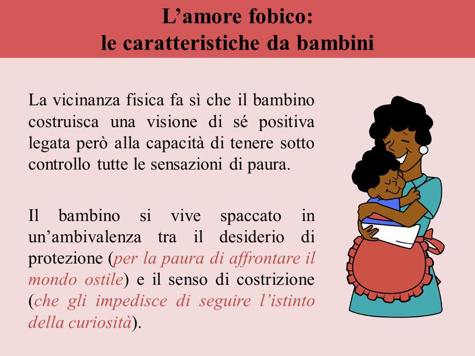 L'amore fobico: le caratteristiche da bambini