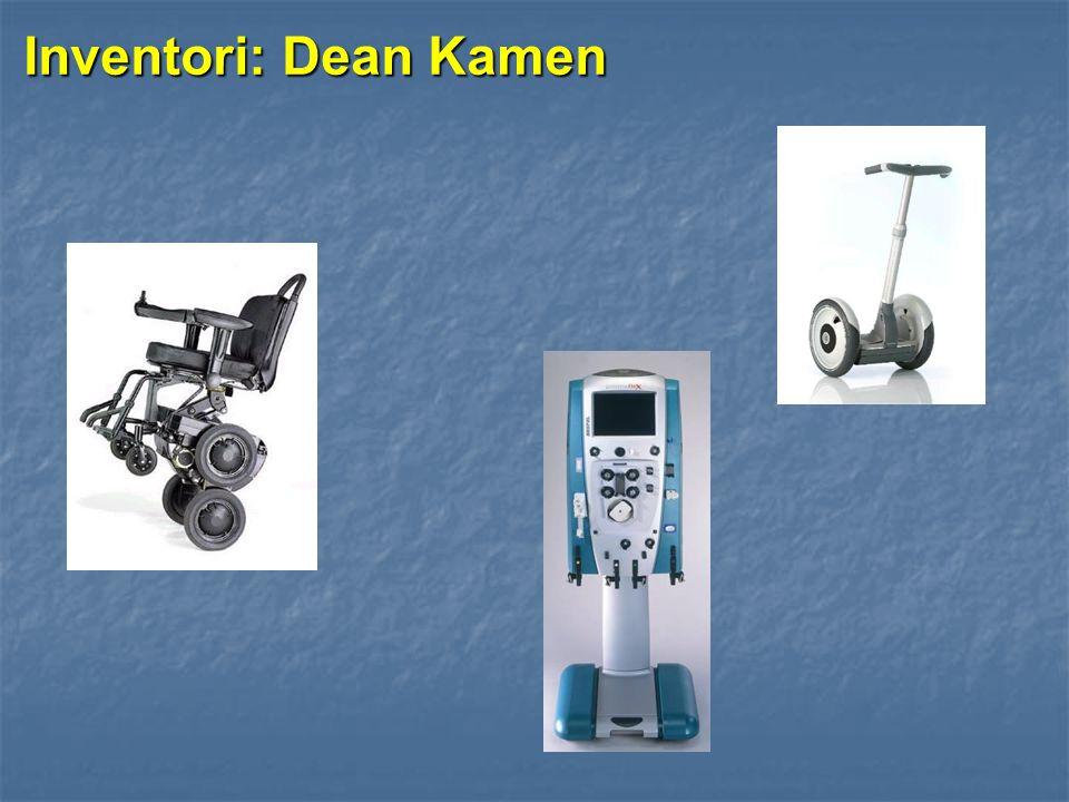Inventori: Dean Kamen