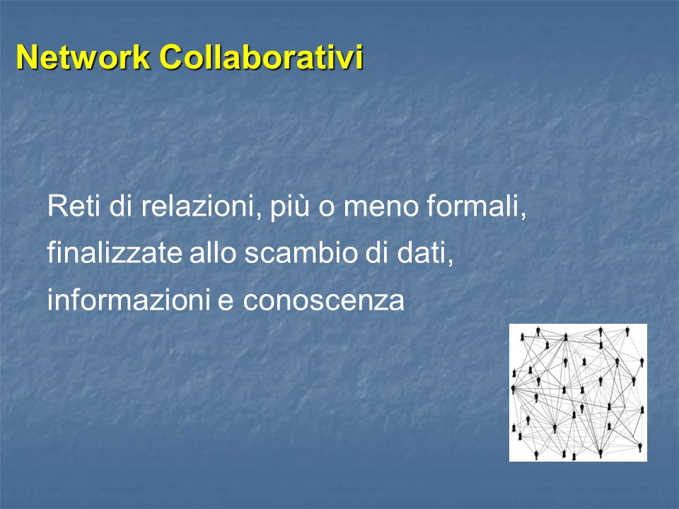 Network Collaborativi
