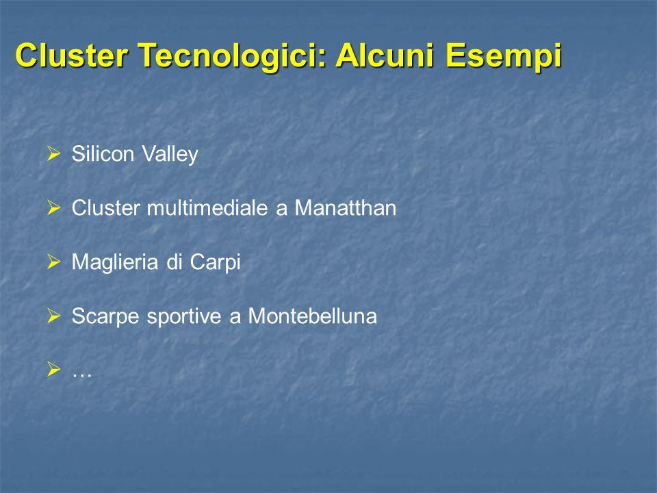Cluster Tecnologici: Alcuni Esempi