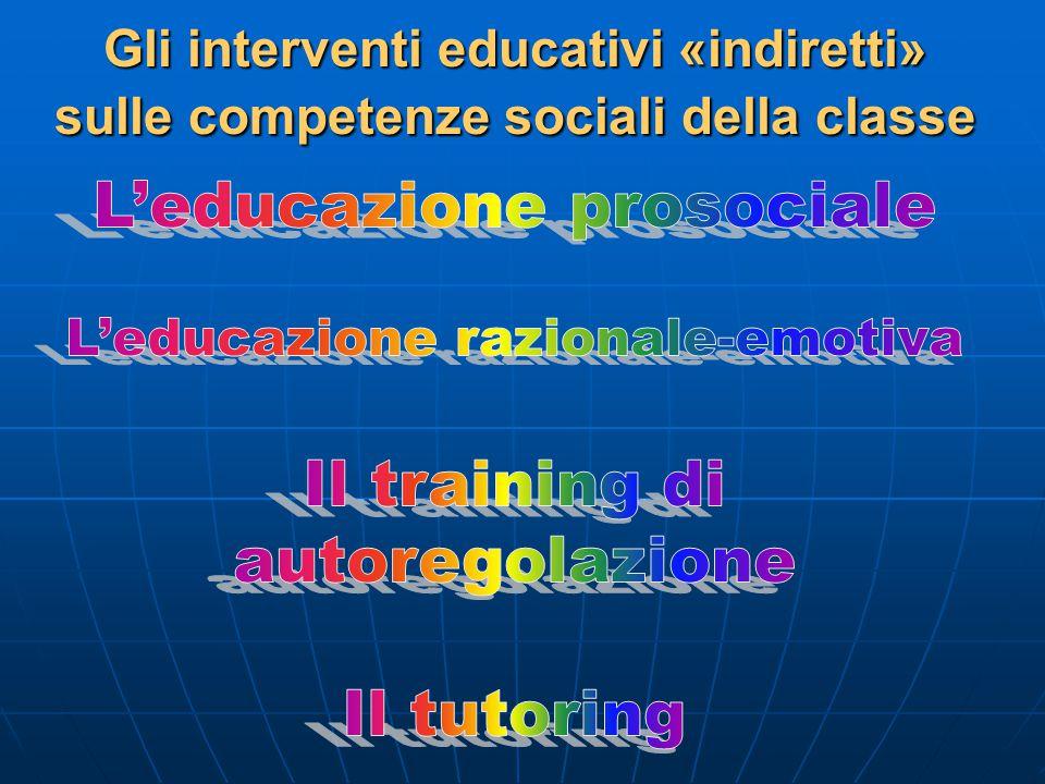 L'educazione prosociale