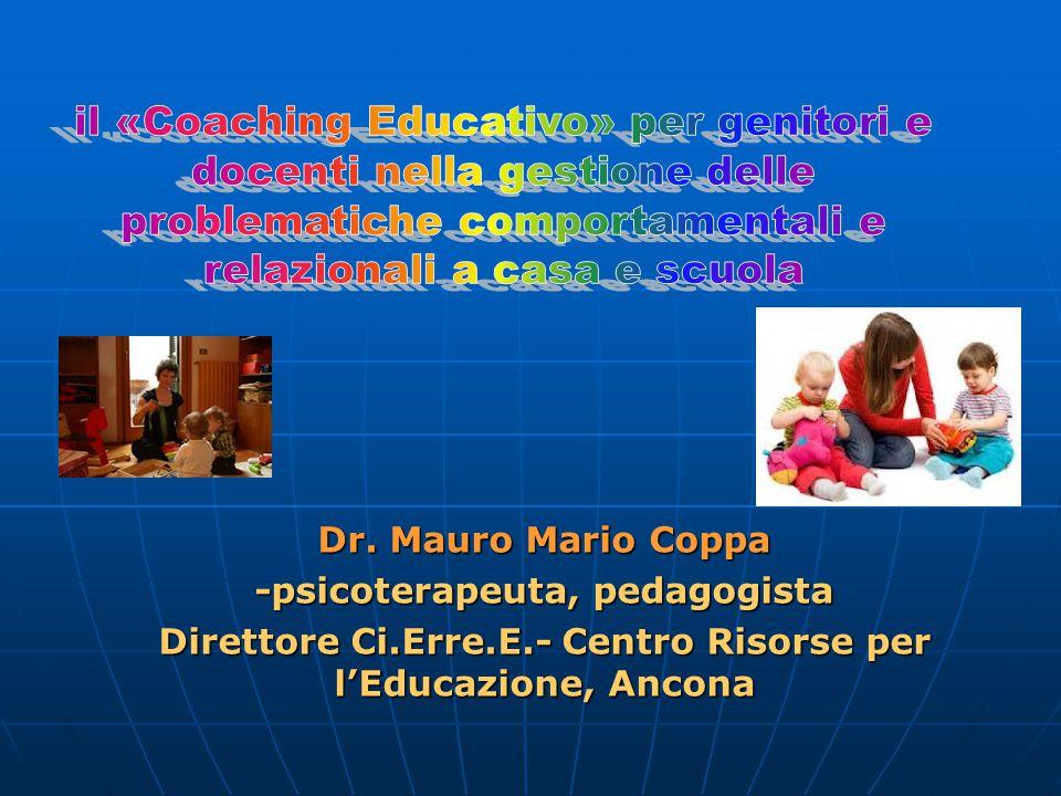 il «Coaching Educativo» per genitori e docenti nella gestione delle problematiche comportamentali e relazionali a casa e scuola