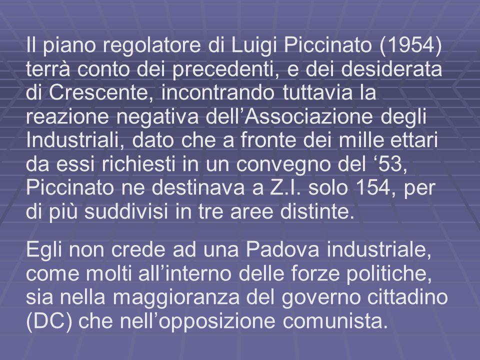 Il piano regolatore di Luigi Piccinato (1954)