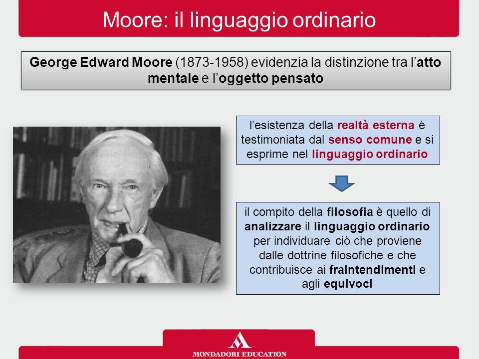 Moore: il linguaggio ordinario