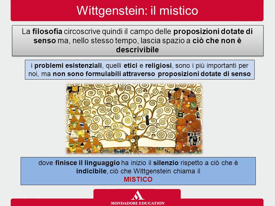 Wittgenstein: il mistico