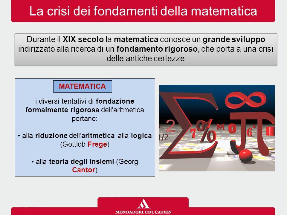 La crisi dei fondamenti della matematica
