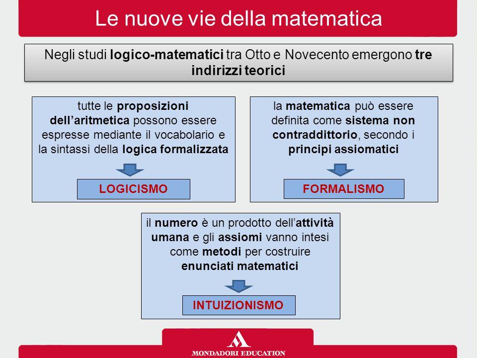 Le nuove vie della matematica